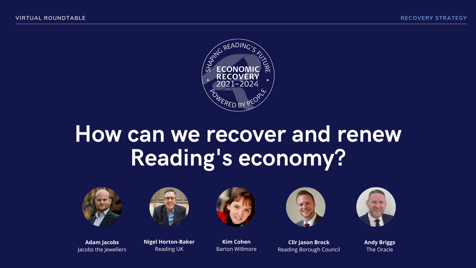 Recovery overview panel